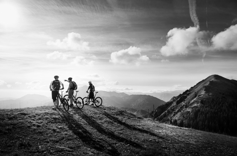 Jarno Schurgers Photography Mountainbiking Slovenia Sunset Sportfotografie
