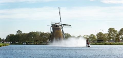 Jarno Schurgers Photography Robbie Maddison Red Bull Windmill Motocross water