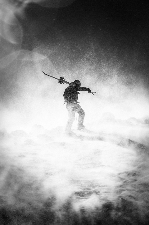 Jarno Schurgers Photography Freeskiing Andes Backcountry Sportfotografie