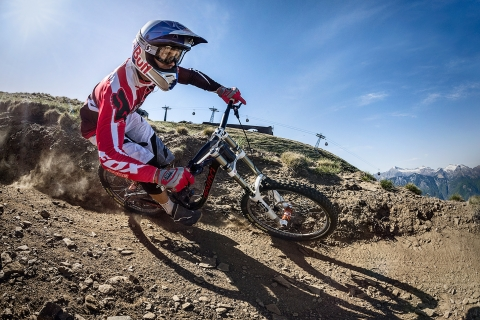 Jarno Schurgers Photography Nick Beer Downhill Mountainbiking Red Bull Sportfotografie