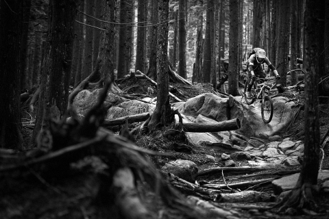 Jarno Schurgers Photography Mountainbiking North Shore Vancouver Sportfotografie
