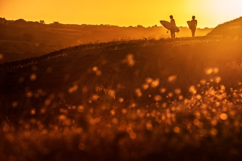Jarno Schurgers Photography Surfing Sunset Sportfotografie