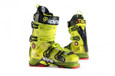 Jarno Schurgers Photography K2 Spyne Ski Boots Commercial Photography